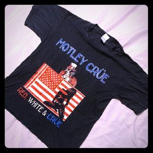 Motley Crue Men's 2005 Band Tour Tee Shirt